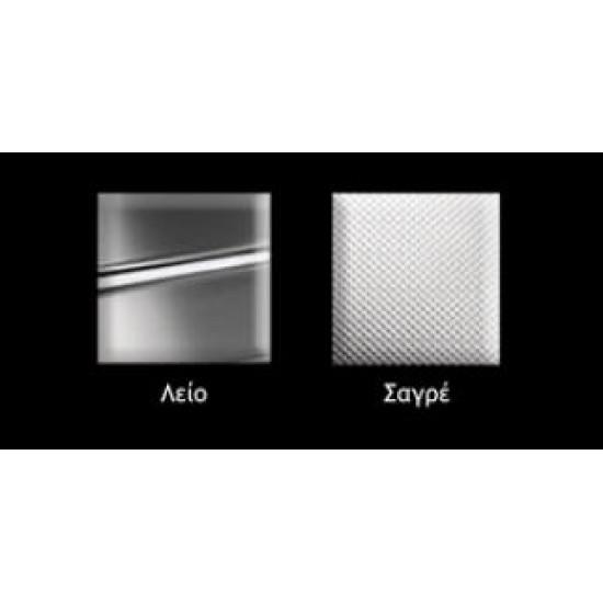 Νεροχύτης ανοξείδωτος  APELL VENEZIA ένθετος 8312 λείος (100X50)