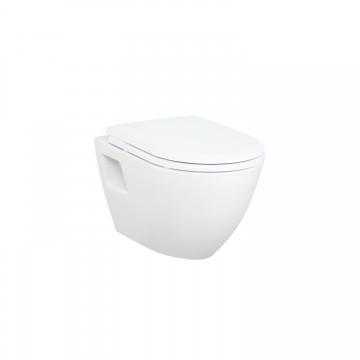Λεκάνη πορσελάνη CREAVIT κρεμαστή RAZOR λευκή (χωρίς κάλυμμα) TP325