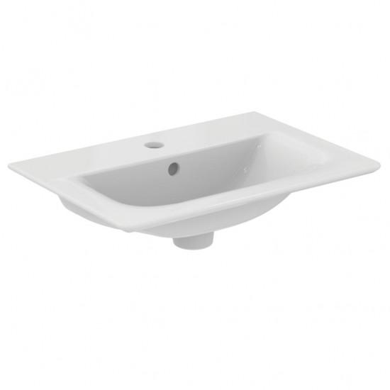 Νιπτήρας IDEAL STANDARD μπάνιου CONNECT AIR E0296 επίπλου 54 Χ 38