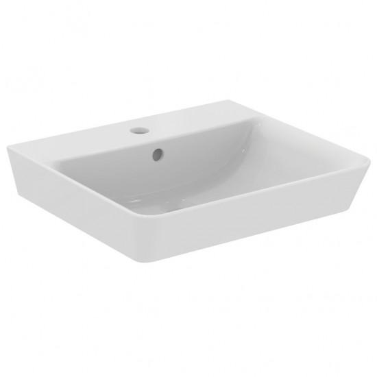 Νιπτήρας IDEAL STANDARD μπάνιου CONNECT AIR CUBE επίτοιχος E0301  50 Χ 45
