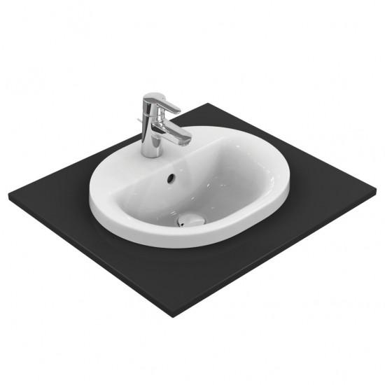 Νιπτήρας IDEAL STANDARD μπάνιου CONNECT RUNNING TRACK ένθετος E5038 48 Χ 40
