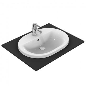 Νιπτήρας IDEAL STANDARD μπάνιου CONNECT RUNNING TRACK ένθετος E5040 62 Χ 46