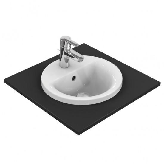Νιπτήρας IDEAL STANDARD μπάνιου CONNECT ROUND/SPHERE ένθετος E5041 38cm