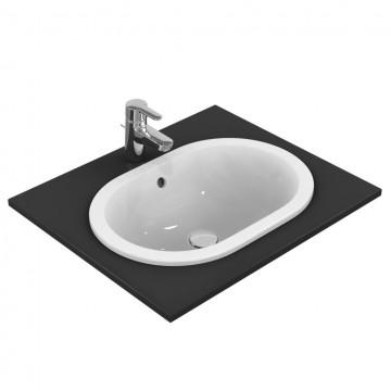 Νιπτήρας IDEAL STANDARD μπάνιου CONNECT RUNNING TRACK ένθετος E5047 55 Χ 38