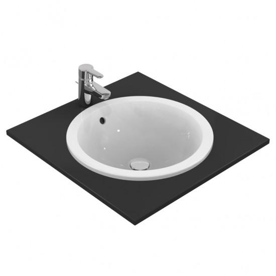 Νιπτήρας IDEAL STANDARD μπάνιου CONNECT ROUND/SPHERE ένθετος E5053 48cm