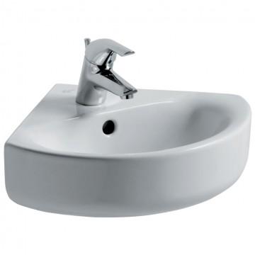 Νιπτήρας IDEAL STANDARD μπάνιου CONNECT ARC γωνιακός E7136 45cm