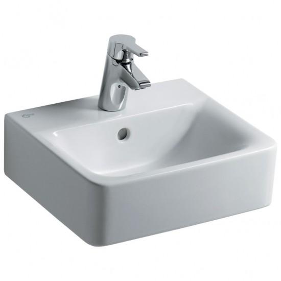 Νιπτήρας IDEAL STANDARD μπάνιου CONNECT CUBE ελεύθερης τοποθέτησης E7137 40 X 36cm