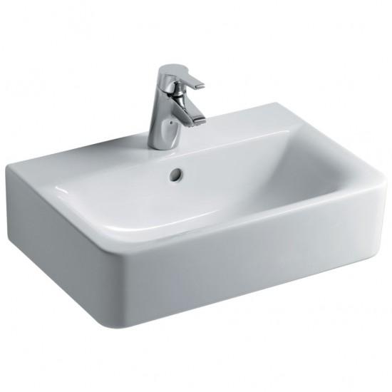 Νιπτήρας IDEAL STANDARD μπάνιου CONNECT CUBE ελεύθερης τοποθέτησης E7140 55 X 38cm
