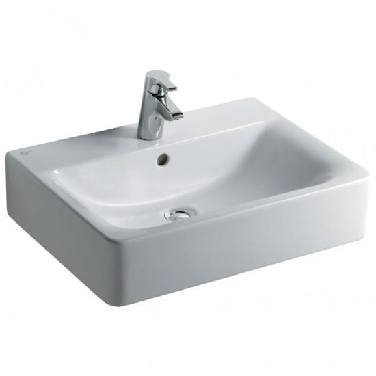 Νιπτήρας IDEAL STANDARD μπάνιου CONNECT CUBE ελεύθερης τοποθέτησης E7141 60 X 46cm