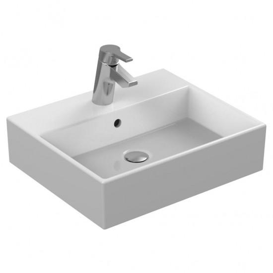 Νιπτήρας IDEAL STANDARD μπάνιου STRADA ελεύθερης τοποθέτησης με οπή K0777 50 X 42cm