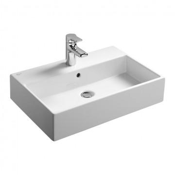 Νιπτήρας IDEAL STANDARD μπάνιου STRADA ελεύθερης τοποθέτησης με οπή K0778 60 X 42cm