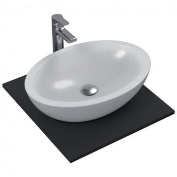 Νιπτήρας IDEAL STANDARD μπάνιου STRADA ελεύθερης τοποθέτησης χωρίς οπή K0784 60cm