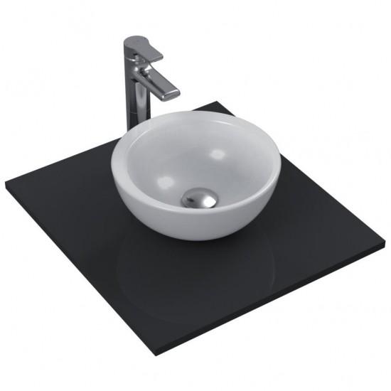 Νιπτήρας IDEAL STANDARD μπάνιου STRADA ελεύθερης τοποθέτησης χωρίς οπή στρογγυλός K0793 34cm