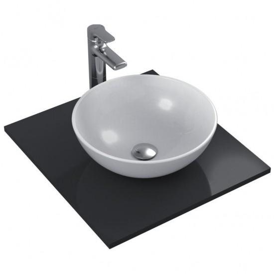 Νιπτήρας IDEAL STANDARD μπάνιου STRADA ελεύθερης τοποθέτησης χωρίς οπή στρογγυλός K0795 41cm