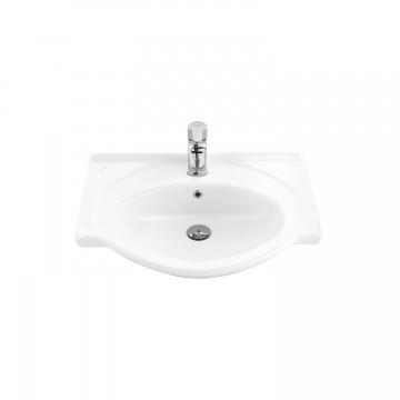 Νιπτήρας CREAVIT SMILE ET065 μπάνιου επίπλου 65cm