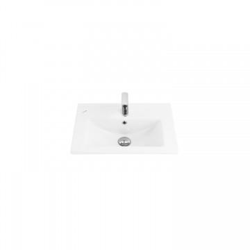 Νιπτήρας CREAVIT SLIM SU055 μπάνιου επίπλου 55cm