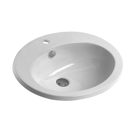 Νιπτήρας GSI μπάνιου ALISEO ένθετος 57 Χ 47