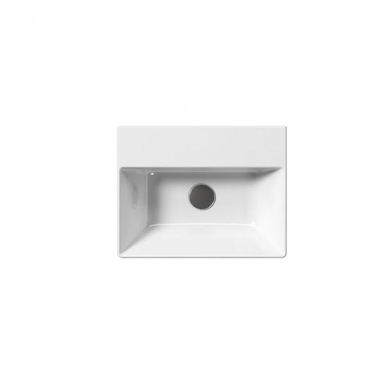 Νιπτήρας GSI μπάνιου KUBE-X 9485 επίτοιχος και επιτραπέζιος 45 Χ 35