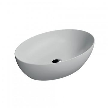 Νιπτήρας GSI PURA 8842-301 επιτραπέζιος WHITE MAT 60 Χ 42