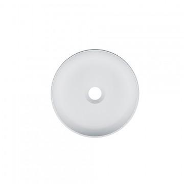 Νιπτήρας SCARABEO GLAM 1808 επιτραπέζιος χωρίς οπή Φ33