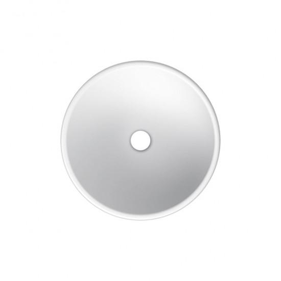 Νιπτήρας SCARABEO SFERA 8009 επιτραπέζιος χωρίς οπή Φ39,5