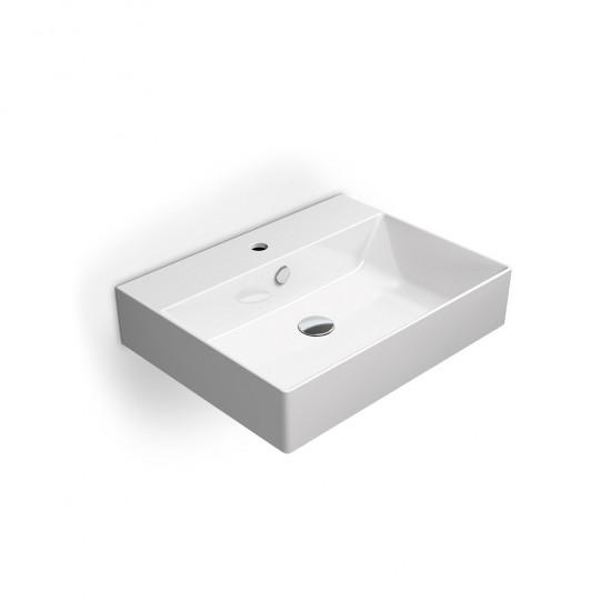 Νιπτήρας GSI μπάνιου KUBE-X 9431 επίτοιχος και επιτραπέζιος 60 Χ 47